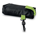 Сумка для покупок в чехле, черный/зеленый фото