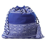 Сумка «Скандик», синяя фото