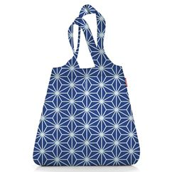 Сумка складная mini maxi shopper winter blue фото
