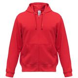 Толстовка мужская Hooded Full Zip красная, красный фото