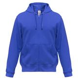 Толстовка мужская Hooded Full Zip ярко-синяя, синий фото