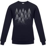 Толстовка мужская Silver Christmas, темно-синяя фото
