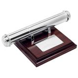 Тубус для наградных бумаг, серый, коричневый фото