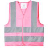 Жилет детский светотражающий Glow, розовый фото