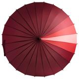 Зонт-трость «Спектр», красный фото