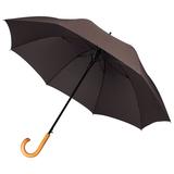 Зонт-трость Unit Classic, коричневый фото