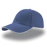 Бейсболка LIBERTY SANDWICH 6 клиньев, сэндвич, синий фото