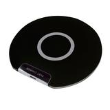 Беспроводное зарядное устройство DISK, черный фото