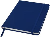 Блокнот на резинке Spectrum А5 с нелинованными страницами, 96 листов, синий фото