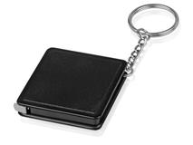 Брелок - рулетка квадратный Дюйм, черный фото