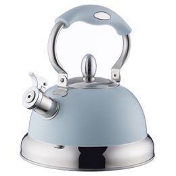 Чайник со свистком living голубой фото