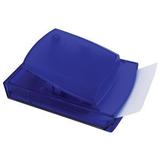 Диспенсер для записей, синий фото
