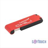 "Флеш-карта ""Case"" 8GB, покрытие soft touch, красная фото"