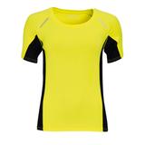 Футболка для бега SYDNEY WOMEN 180, желтый фото