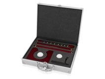 Офисный набор для гольфа Багс, серебряный/серый, красный фото