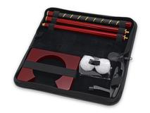 Офисный набор для гольфа Игрок, черный, красный фото