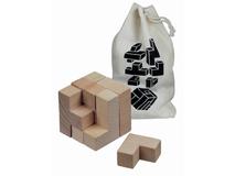 Головоломка деревянная, бук фото