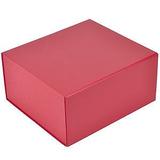 Коробка подарочная складная, красный фото