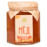 Мед цветочный  С облепихой, бежевый фото