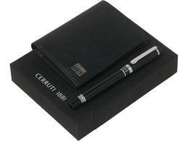 Набор: портмоне, ручка роллер фото