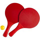 Набор для игры в пляжный теннис Cupsol, красный фото