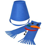 Набор для лепки снеговика Улыбка, синий фото