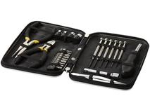 Набор инструментов, 24 предметов в чехле, черный фото