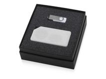 Подарочный набор Move-it с флешкой и портативной колонкой, белый фото