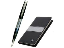 Набор: ручка шариковая, записная книжка фото