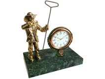 Настольный прибор Металлург, золотой, зеленый фото