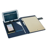 Папка для документов А4 Basic на магните, синий фото