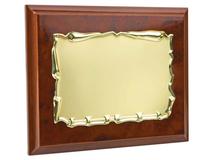 Плакетка Гранада, золотой, коричневый фото