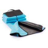 Плед для пикника, синий, синий фото