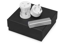 Подарочный набор Charge с адаптером и зарядным устройством, серый фото