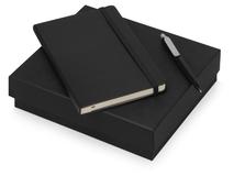 Подарочный набор Moleskine Picasso с блокнотом А5 и ручкой, черный фото