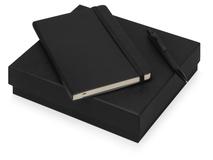 Подарочный набор Moleskine Sherlock с блокнотом А5 и ручкой, черный фото