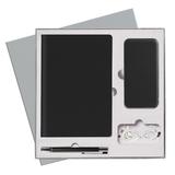 Подарочный набор Portobello/Rain черный (Ежедневник недат А5, Ручка, Power Bank) фото