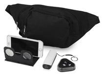 Подарочный набор Virtuality с 3D очками, наушниками, зарядным устройством и сумкой, черный фото