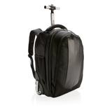 Рюкзак на колесах Swiss Peak, черный фото