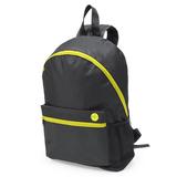 Рюкзак TOWN, чёрный/ жёлтый фото