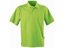 Рубашка поло детская Slazenger Forehand, салатовая фото