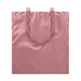 Сумка шоппер блестящая, розовый фото