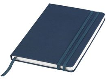 Блокнот на резинке Denim А5, 80 листов, синий фото