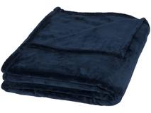 Ультра-плюшевый плед Mollis, синий фото