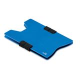 Чехол для карт с RFID, синий фото