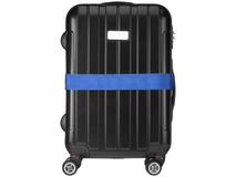 Багажный ремень, синий фото