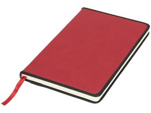 Блокнот А5 Lincoln, красный фото