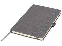 Блокнот на резинке Suede А5, серый фото