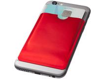 Бумажник для карт с RFID, красный фото