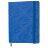 Бизнес-блокнот в клетку на резинке thINKme Tabby Biggy B5, 256 стр., синий фото